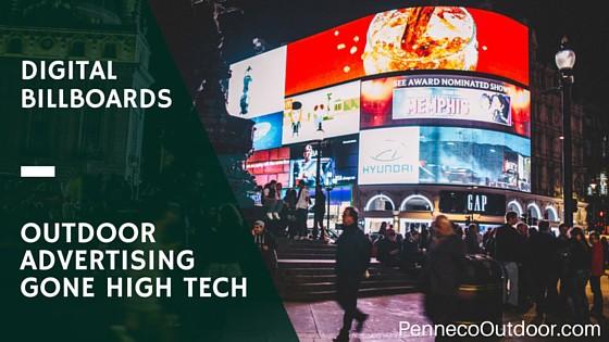 Digital Billboards: Outdoor Advertising Gone High-Tech