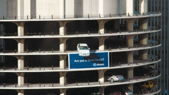 Creative Billboard Design 4: Allstate