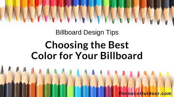 OOH Design Tips | Choosing the Best Colors for Your Billboard