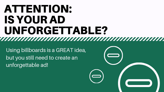 10 Things to Consider To Create An Unforgettable Ad